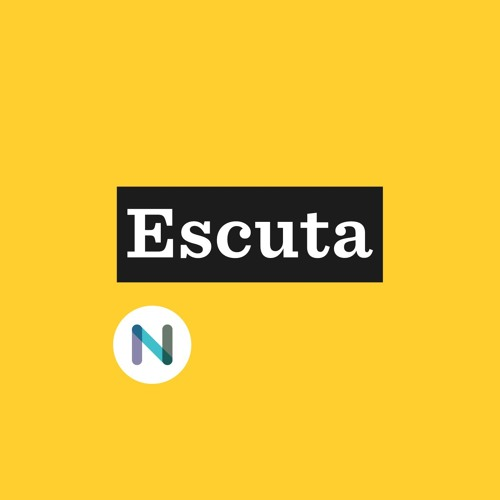 "Página do podcast ""Escuta"""